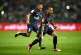 D.Alveso stulbinantis debiutinis įvartis padėjo PSG laimėti Prancūzijos supertaurę
