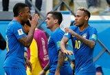 """""""Goldman Sachs"""" simuliacija: pasaulio čempionato finale žais Anglija ir Brazilija"""