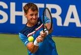 Teniso trilerį laimėjęs R.Berankis pirmą kartą žais prestižinio turnyro pagrindiniame etape