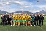 Lietuvos U-17 rinktinė laimėjo pirmąsias Baltijos taurės rungtynes