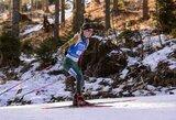 G.Leščinskaitė pasaulio biatlono taurės etape pasiekė vieną geriausių karjeros rezultatų