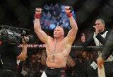 Aiškėja, kodėl B.Lesnaras persigalvojo dėl sugrįžimo į UFC