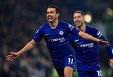 """""""Chelsea"""" iškovojo gyvybiškai svarbią pergalę prieš """"Tottenham"""""""