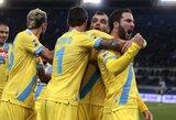 """G.Higuainas buvo pagrindinis """"Napoli"""" klubo pergalės kalvis"""