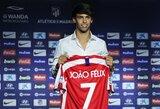 """126 mln. kainavęs J.Felixas: """"Į Madridą atvykau, kad būčiau savimi, o ne bandyčiau būti kaip C.Ronaldo"""""""