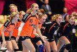 Olandijos rankininkės pirmą kartą istorijoje žais pasaulio čempionato finale