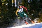 Puikiai šaudę lietuviai pasaulio biatlono čempionato starte pasiekė rekordą