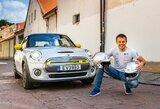 """V.Žala šturmano vietai užimti skelbia konkursą: """"Press Rally"""" dalyvaus su elektriniu """"Mini"""""""
