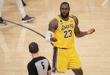 """L.Jameso atsakas į NBA žinutę: """"Aš nežaisiu be sirgalių arenoje"""""""