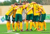 Lietuvos U-19 futbolo rinktinei – pirmasis išbandymas Baltarusijoje