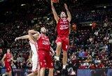 Stipriausia Italijos krepšinio lyga ruošiasi rekordiniam pagausėjimui