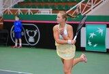 A.Paražinskaitė ir J.Mikulskytė jaunių teniso turnyre Italijoje žengia be pralaimėjimų