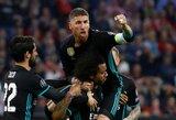 Kinija nebevilioja: S.Ramosas nori užbaigti karjerą Madride