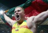 A.Gudžiaus auksas pakėlė Lietuvą aukštyn medalių įskaitoje