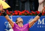 R.Nadalis tęsia pergalingą žygį ir iškovojo dešimtą titulą Barselonoje