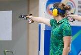 Gabrielė Rankelytė buvo per plauką nuo medalio Europos jaunimo šaudymo sporto čempionate