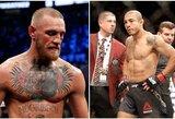 """""""CBS Sports"""" atsakas C.McGregorui: geriausių visų laikų MMA kovotojų dešimtuke airis liko už J.Aldo"""