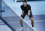 """""""Barclays ATP World Tour Finals"""" teniso turnyras pasiekė naujus žiūrimumo rekordus"""