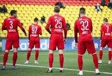 """""""Panevėžys"""" po 2 mėnesių pertraukos iškovojo Lietuvos futbolo A lygoje pergalę"""