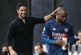 """Arsenal"" puolėjas A.Lacazette'as: ""M.Arteta nori, jog žaistume tobulai"""