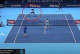 """Paskutinį sykį kartu žaidę L.Kubotas ir M.Melo sukūrė įspūdingą epizodą """"ATP Finals"""" turnyre"""