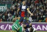 "PSG iškovojo dramatiškas lygiąsias, ""Monaco"" nugalėjo ""Lyon"""