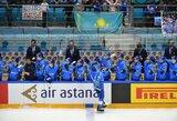 Kazachai čempionatą baigė pergale prieš vengrus, lietuviams iki išlikimo pritrūko vieno taško