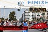 """Etiopijos bėgikas T.Getu: """"Pagerinsiu """"Danske Bank Vilniaus maratono"""" rekordą"""""""