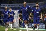 """""""Carabao"""" taurėje – F.Lampardo sugrįžimas į Londoną, įvarčių lietus ir """"Chelsea"""" pergalė"""