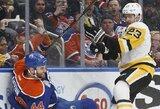 """S.Crosby ir P.Kesselio įvarčiai padovanojo """"Penguins"""" pergalę po baudinių serijos"""