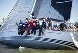 """Pirmą kartą varžybose plaukianti jachta """"Cool water"""" triumfavo 50-ojoje """"Kuršių marių regatoje"""""""