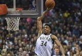 Jūsų dėmesiui – kol kas geriausias šio NBA sezono dėjimų dešimtukas