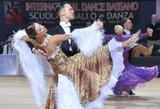 Pasaulio standartinių šokių čempionate V.Lacitis ir V.Golodneva užėmė 8-ą vietą