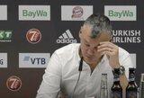 """Š.Jasikevičius: """"Turėjome 2 vaizdo peržiūras, susitikimus prieš ir per rungtynes, bet nesugebėjau žaidėjų įtikinti, kad W.Baldwinas veržiasi į kairę pusę"""""""