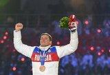 """Rusija džiūgauja: net 28 sportininkams panaikintos diskvalifikacijos iki """"gyvos galvos"""""""