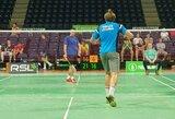 Didžiausiame badmintono turnyre Lietuvoje – šeimininkų nesėkmės