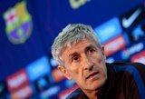 """""""Barcelona"""" treneris nepraranda vilties: """"Kovoje dėl titulo dar liko daug vingių"""""""