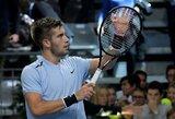 Pirmą kartą vykstančiame vyrų teniso ateities žvaigždžių turnyre paaiškėjo pusfinalio dalyviai