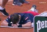 ATP 250 turnyras Vokietijoje: trauma toliau stabdo R.Berankį, A.Murray'us krito pirmajame rate
