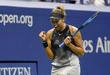 """To nebuvo 32 metus: """"US Open"""" pusfinaliuose žais tik tenisininkės iš JAV"""