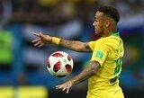 """Neymaras: """"Pralaimėjimas Belgijai yra liūdniausia akimirka mano karjeroje"""""""