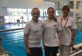 Lietuvos šuolininkę į vandenį Europos jaunimo čempionate stabdė patirta trauma