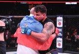 F.Jemeljanenka po įspūdingos pergalės sulaukė brolio sveikinimų ir sužavėjo ne vieną MMA kovotoją