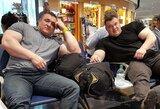 """Broliai Lalai išvyko į """"Arnold Strongman Classic"""" galiūnų varžybas"""