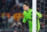 """W.Szczęsny prisiminė, kaip dėl žalingo įpročio prarado vietą """"Arsenal"""" startinėje sudėtyje"""