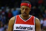"""""""Celtics"""" akiratyje – K.Love'as, P.Pierce'as ir R.Lopezas"""