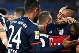 """""""Hamburger"""" įveikę """"Bayern"""" pasivijo """"Bundesliga"""" lyderius"""