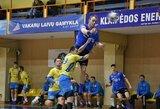 Baltijos vyrų rankinio lygoje pergales šventė dvi iš trijų Lietuvos ekipų