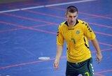 """P.Smolkovas prieš Futsal EURO atrankos varžybas: """"Jaučiame didelę atsakomybę"""""""