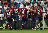 """Iš """"La Liga"""" dugno lipantys """"Levante"""" iškovojo antrą pergalę iš eilės"""